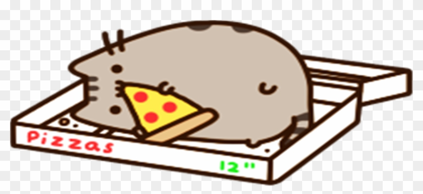 Im A Bum Pusheen In A Pizza Box Free Transparent Png Clipart