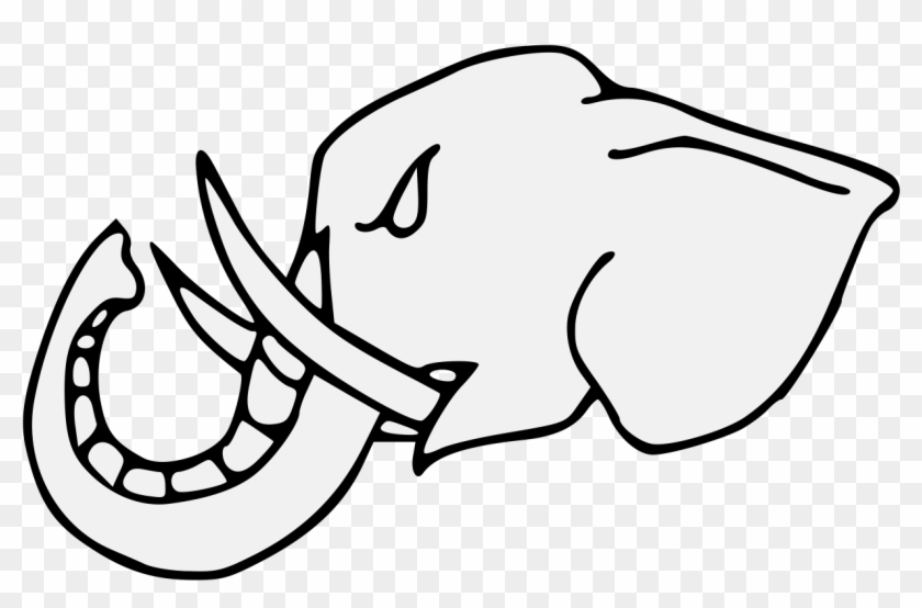 Elephant S Head Couped Close Line Art Free Transparent Png Clipart Images Download Polish your personal project or design with these elephant drawing transparent png images, make it even more personalized and more attractive. elephant s head couped close line art