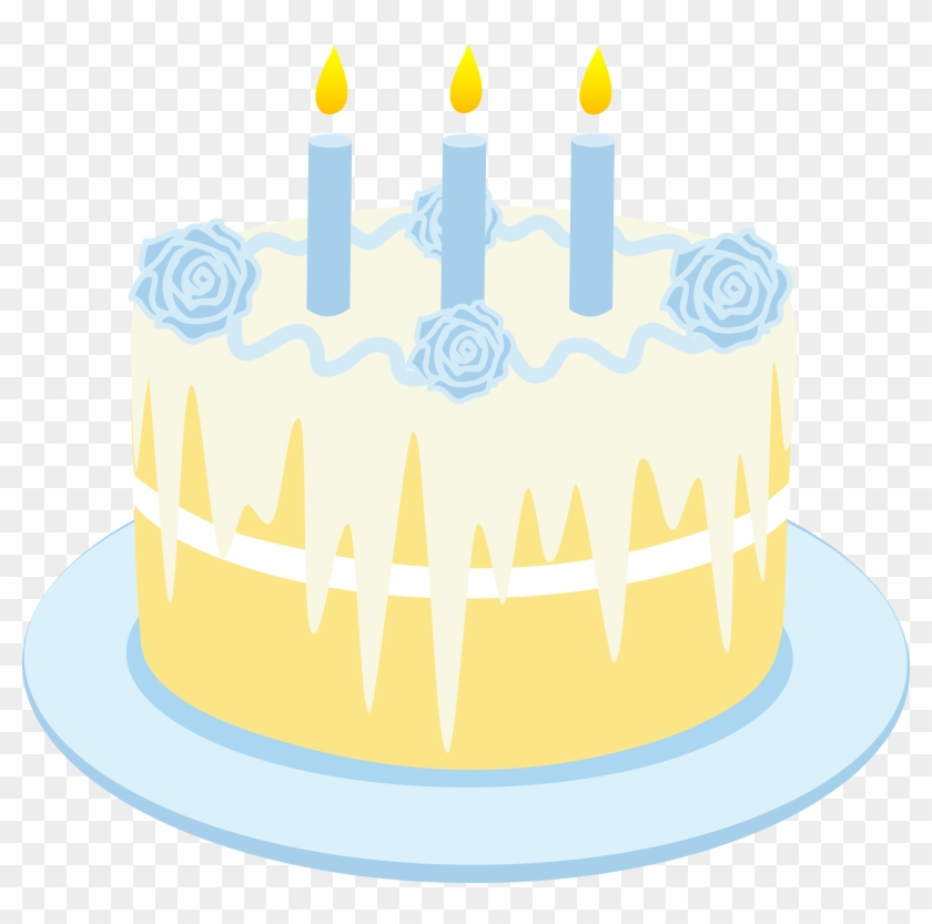 Free Clipart Birthday Cake With Candles Vanilla Cake Clip Art Free Transparent Png Clipart Images Download