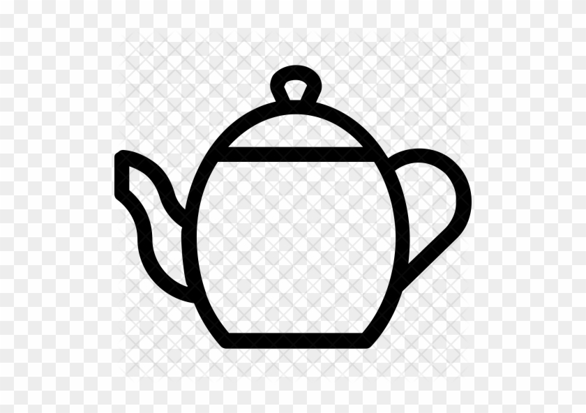 Tea Kettle Icon - Kettle Icon #756918
