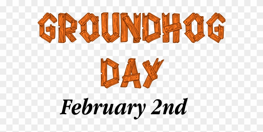 Groundhog - Clipart - Groundhog Day February 2 #757418