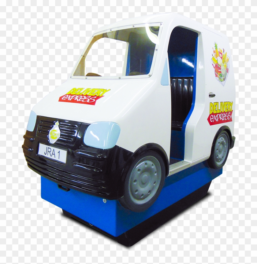 Delivery-express - Delivery Express Van Kiddie Ride #758073