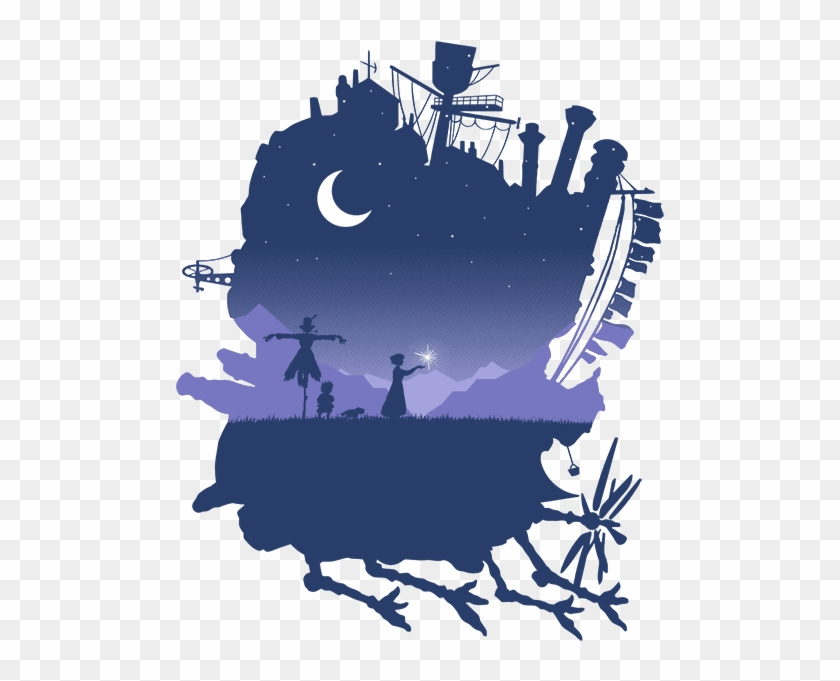 Howl S Moving Castle Howls Moving Castle Free Transparent Png Clipart Images Download