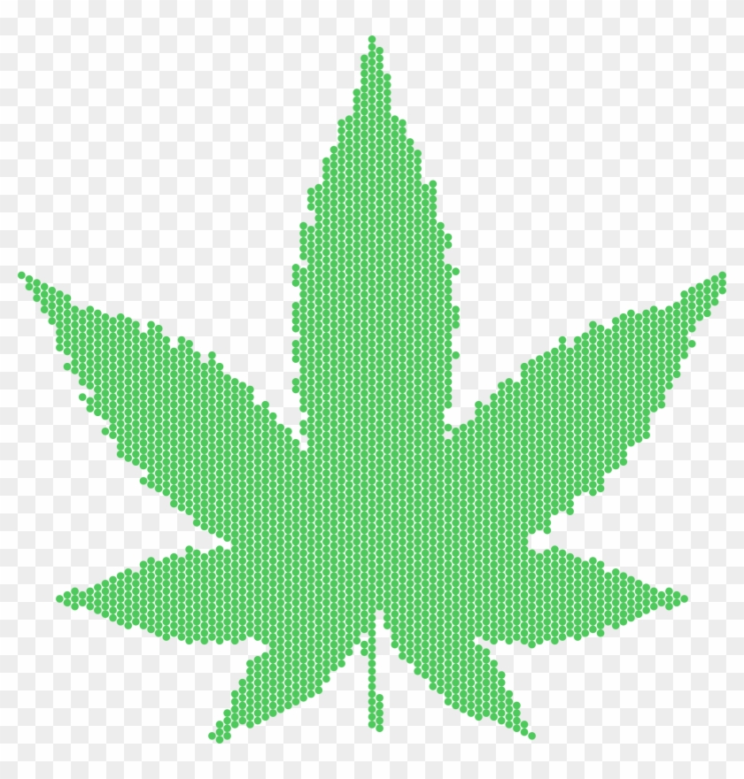 Big Image - Marijuana Leaf #758364