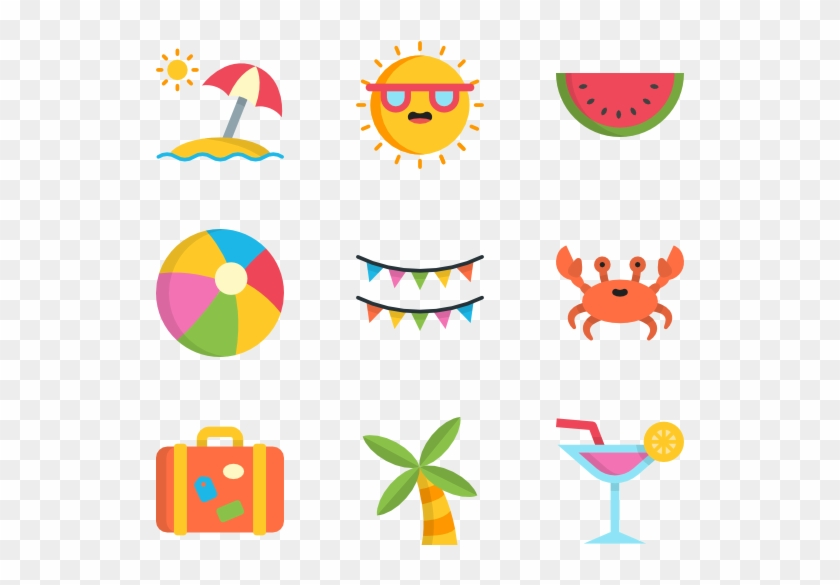 summer 50 icons summer icon transparent background free transparent png clipart images download summer 50 icons summer icon