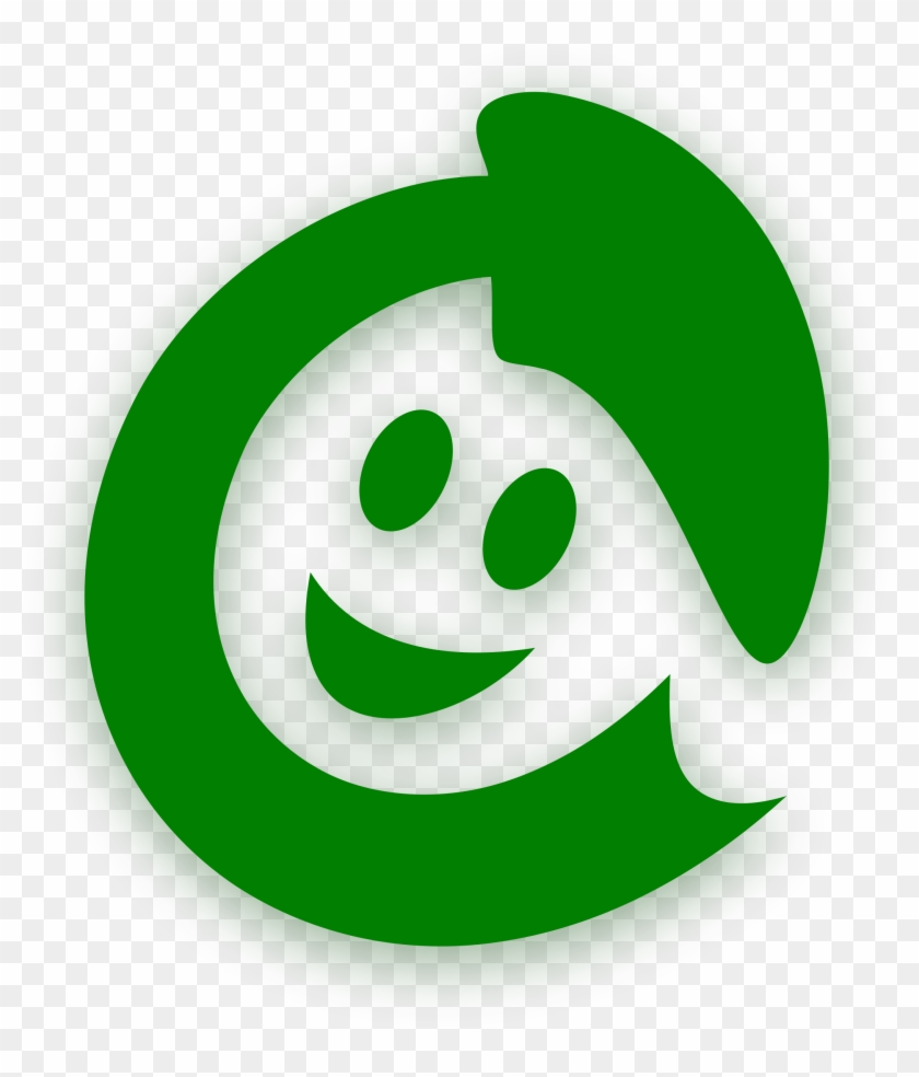 This Free Icons Png Design Of Happy Recycling - Smile Face Happy Logo #760231