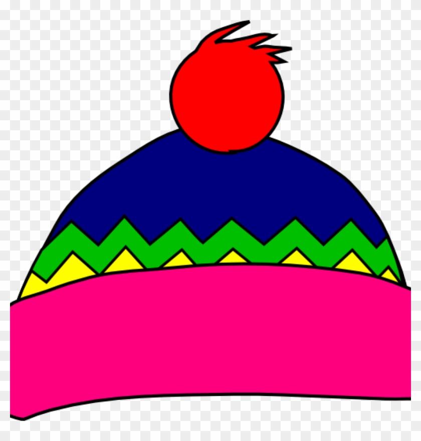 Hat Clipart Multi Color Hat Clip Art At Clker Vector - Winter Hat Clipart #762170