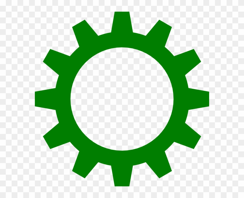 Free Green Dash Cliparts, Download Free Clip Art, Free - Green Gear Icon #762540