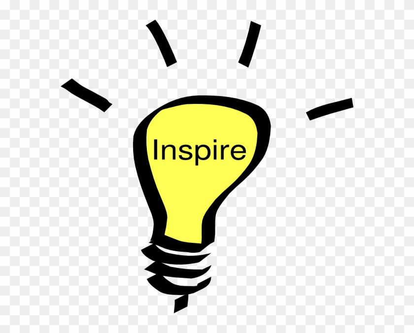 Inspiration Clip Art Inspire Clip Art At Clker Vector - Light Bulb Clip Art #762655
