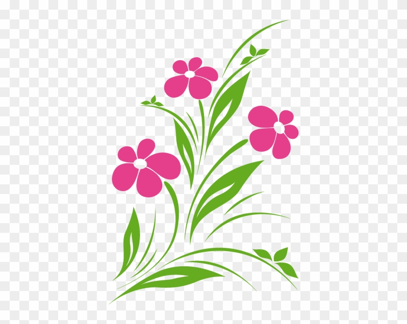 Flor Clip Art Simple Flower Designs Black And White Free
