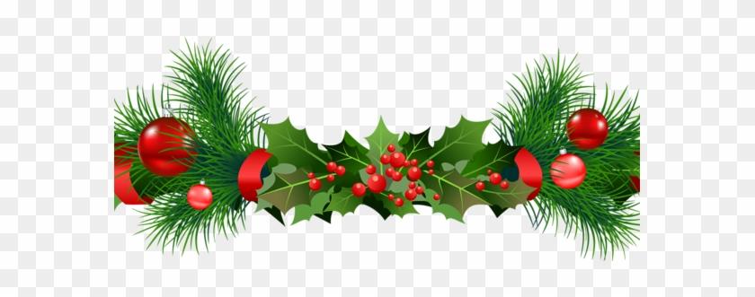 Peaceful Design Ideas Green Christmas Garland Garlands ...