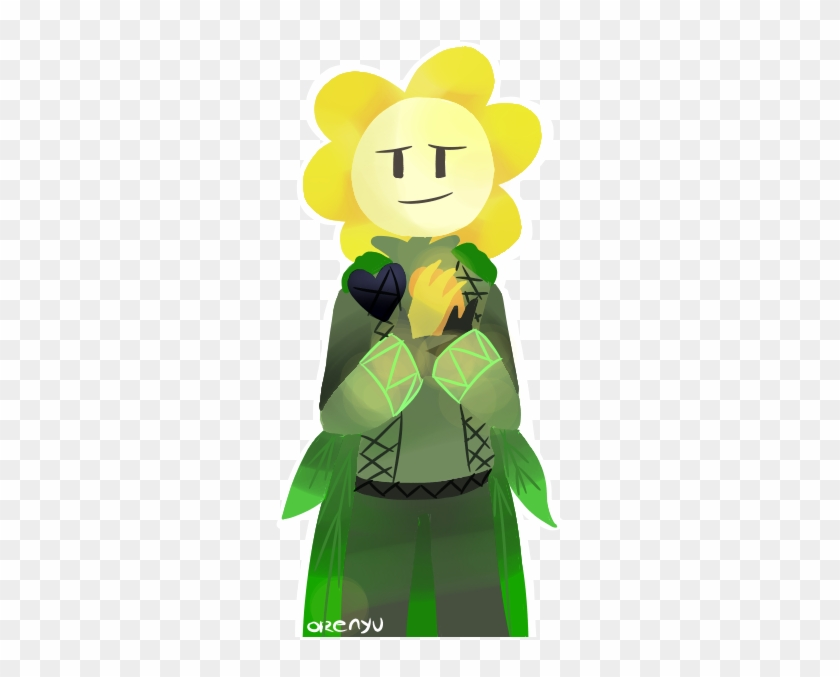 Flowey With Body Undertale - Undertale Flowey With A Body