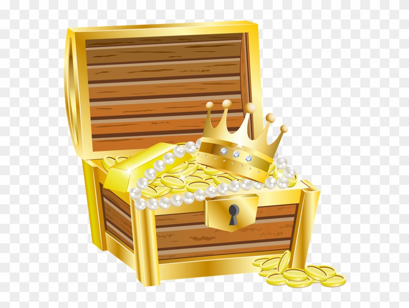 Treasure Clipart Transparent - Treasure Chest Clipart Png #763967
