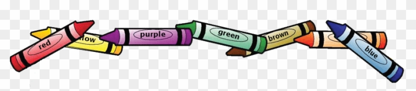 Color Cfl Charlie & Led Lucy - Crayons Clip Art Border - Free ...