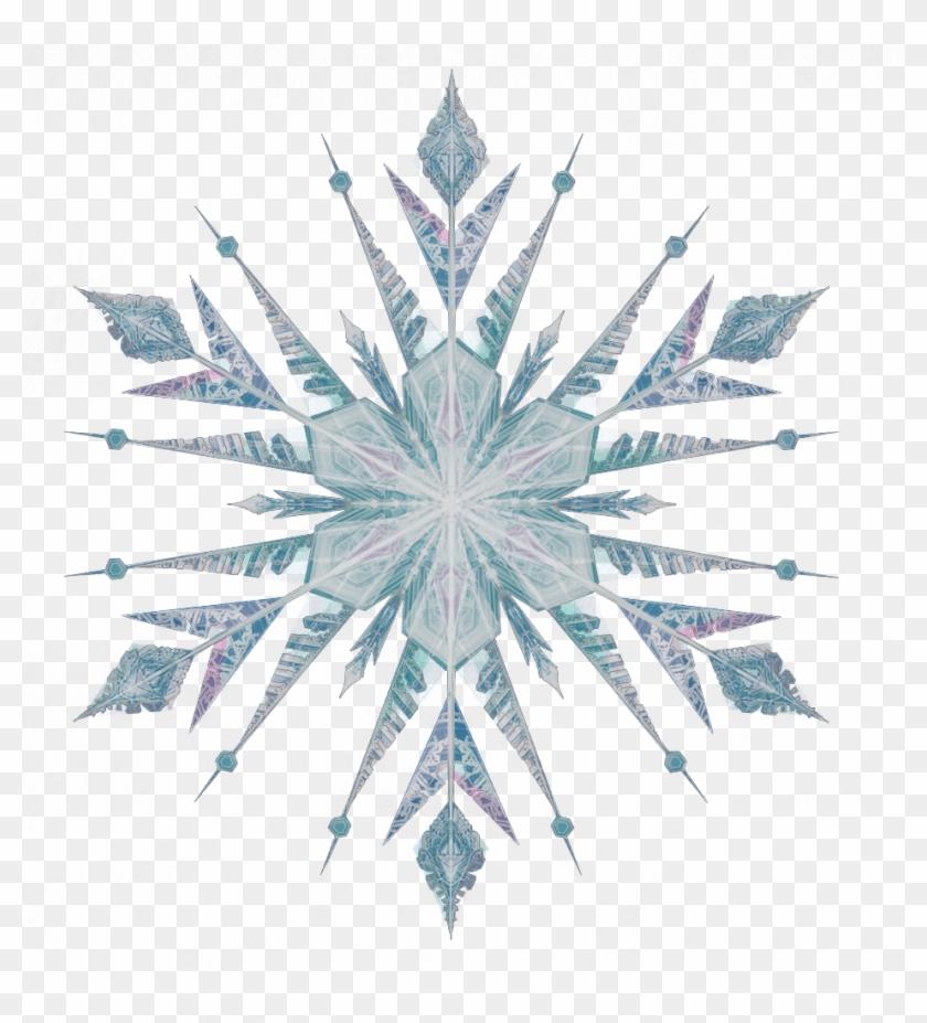 Clipart Snowflakes Png Download - Copo De Nieve Png Blanco Frozen #764179