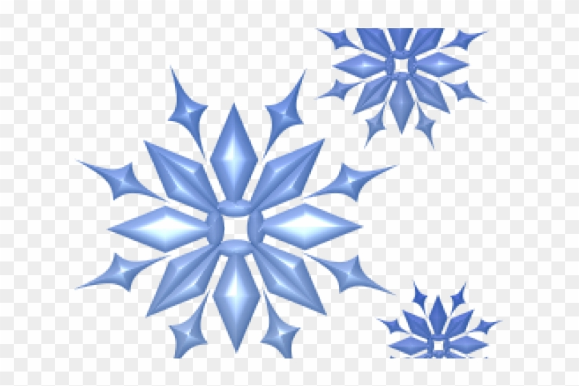 Snowflake Clipart Cluster - Free Snowflake Clip Art #764183