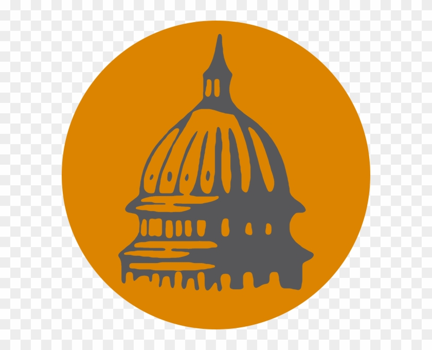 United States Capitol Pumpkin Building Clip Art - New York