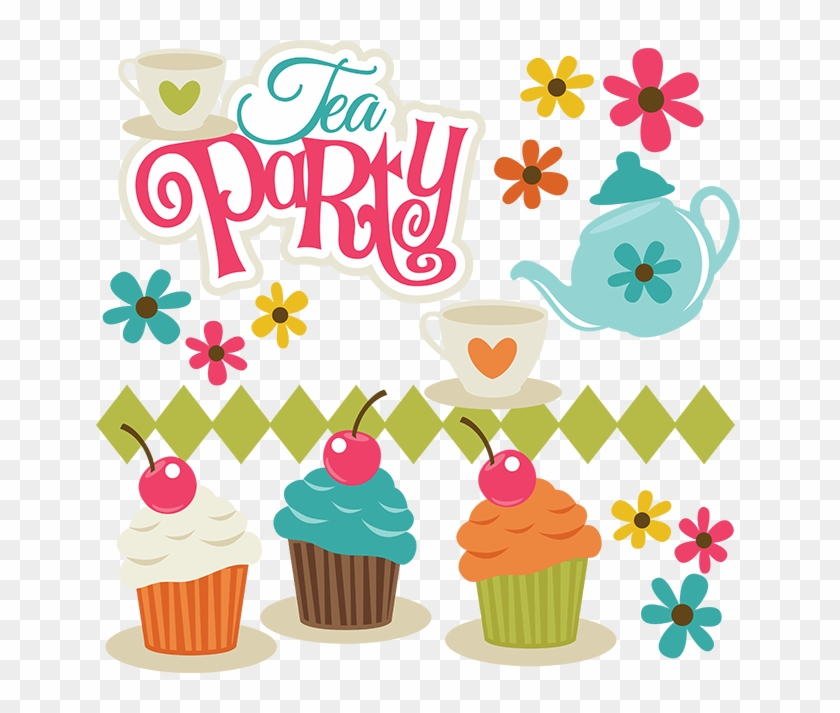 Tea Party Clipart Png #764890