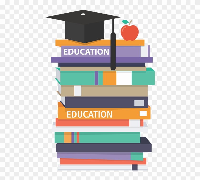 Health & Education - Free Vector Stack Of Books #765150