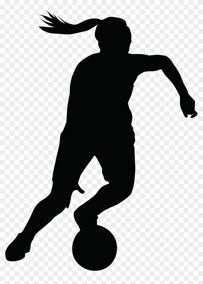 "Whiteford Morenci Girls Basketball Game Postponed €"" - Silhouette Girl Playing Basketball #765484"