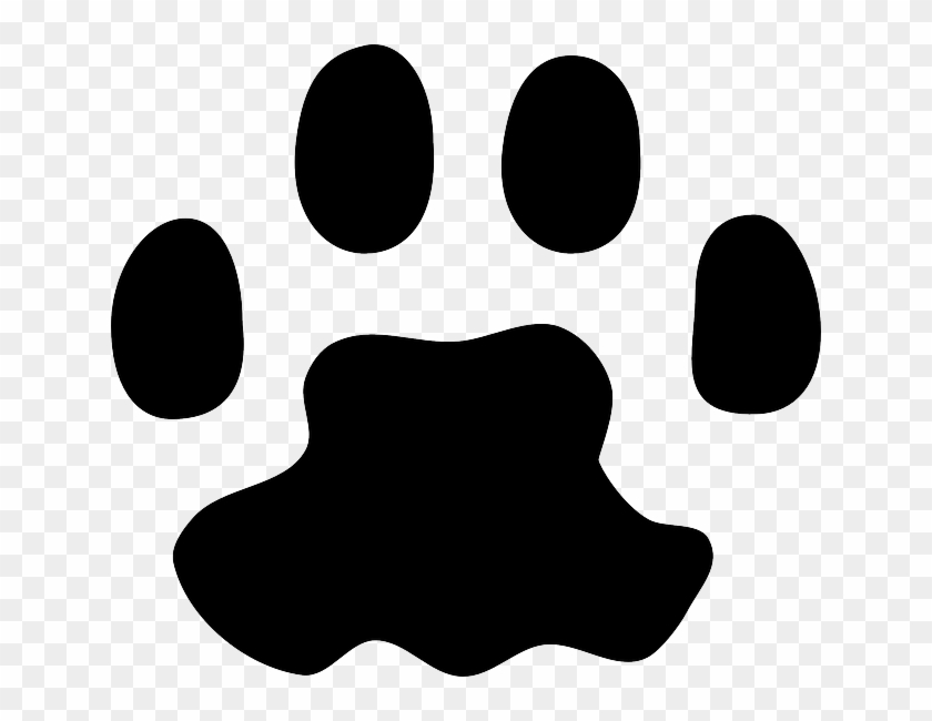 Print, Foot, Paw, Animal, Track - Cat Paw Print Vector #765586