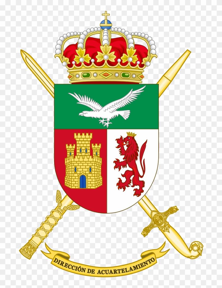 Spanish Army Barracks Direction - Escudos De La V Región Militar #765709