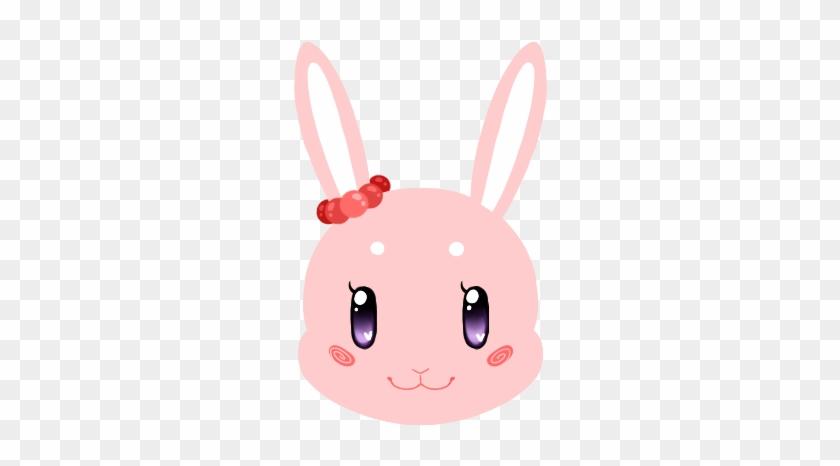 Cute Bunny Pink By Hatchet Ears - Domestic Rabbit #765710