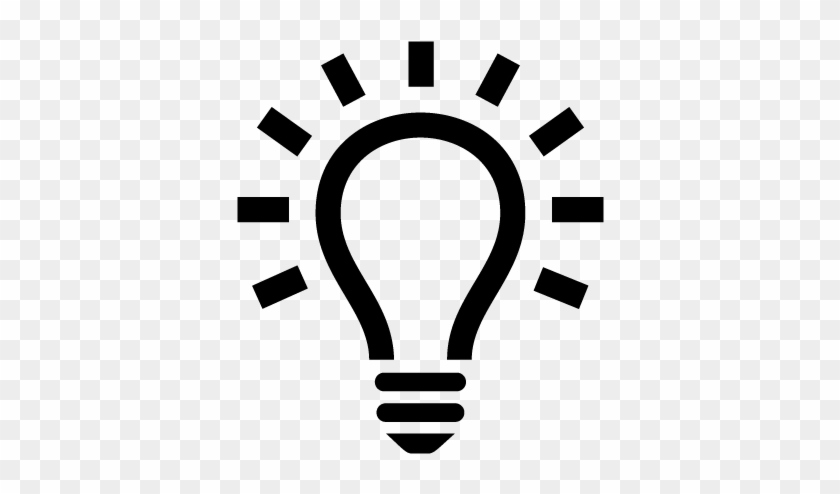 Light Bulb Png Transparent Images - Light Bulb Icon #766014