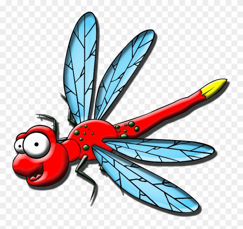 Dragonfly Clipart - Dragon Fly Cartoons #766253