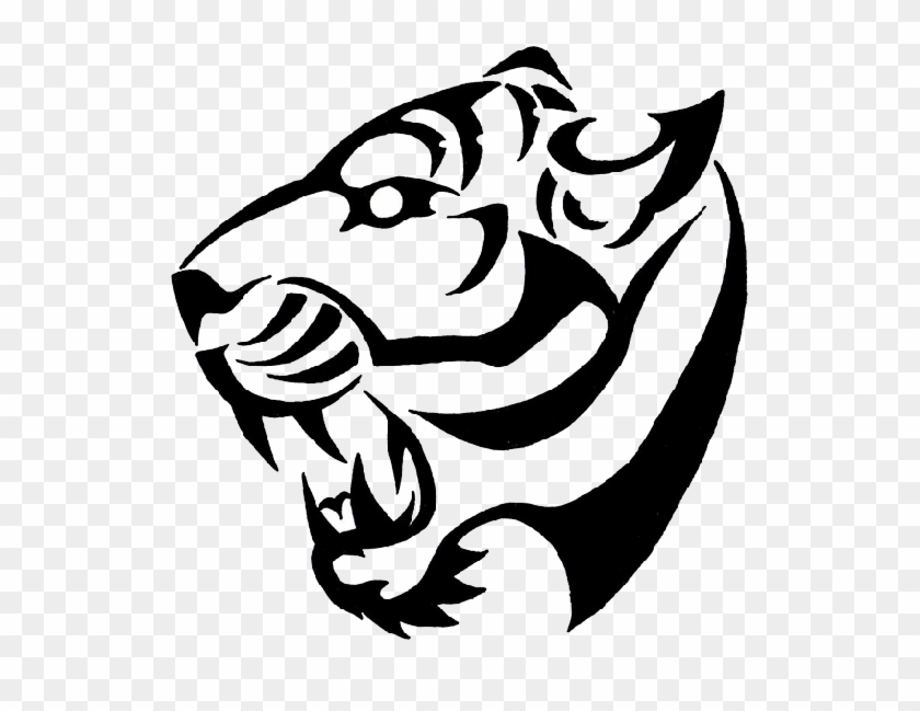 Tiger Simple Tiger Tattoo Designs Free Transparent Png Clipart