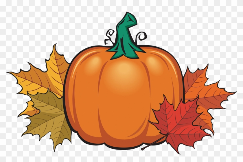 Pumpkin Spice Is Overrated Assumption Fall Festival - Pumpkin With Fall Leaves #767705