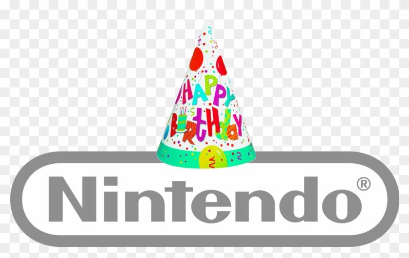 Nintendobirthday - Jamboree Birthday Party Hats 8ct #767913