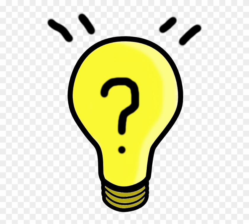 Have An Idea For This Space - Light Bulb Clip Art #768214