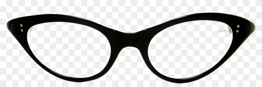 Clip Arts Related To - Cat Eye Glasses Png #768338