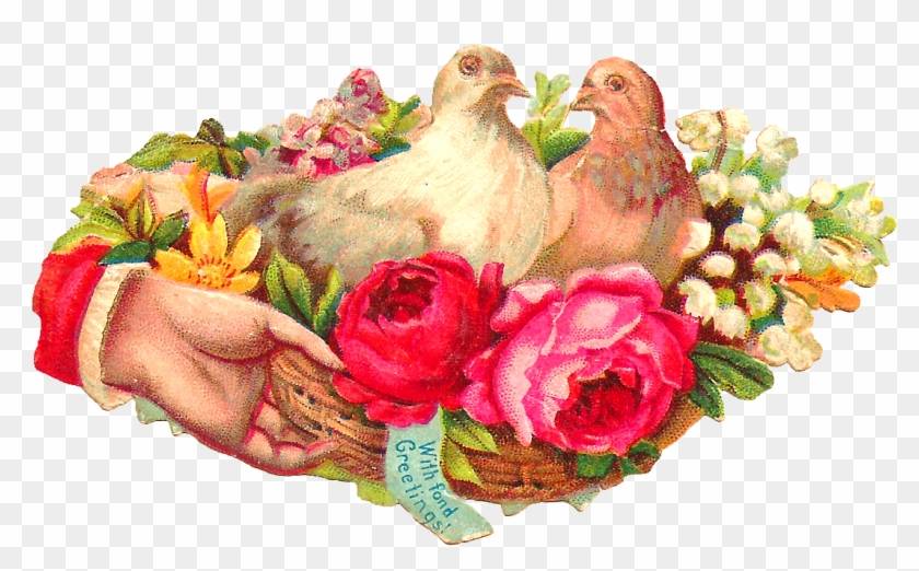 This Is A Pretty Digital Pigeon Graphic I Created From - Victorian Era #768554