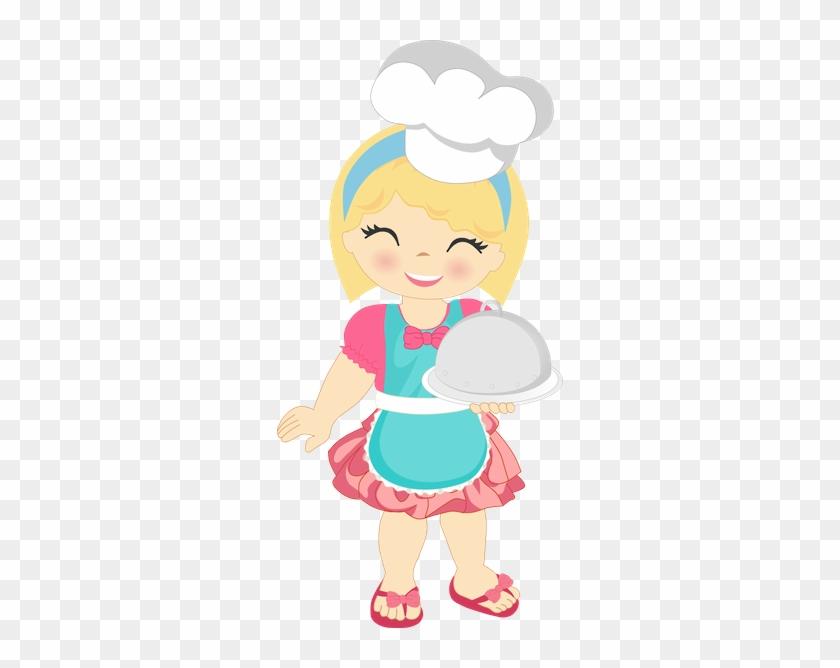 Cozinha - Minus - Desenho Chef De Cozinha Menina #769388