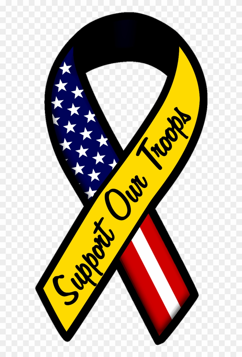 Support Our Troops Ribbon #138351