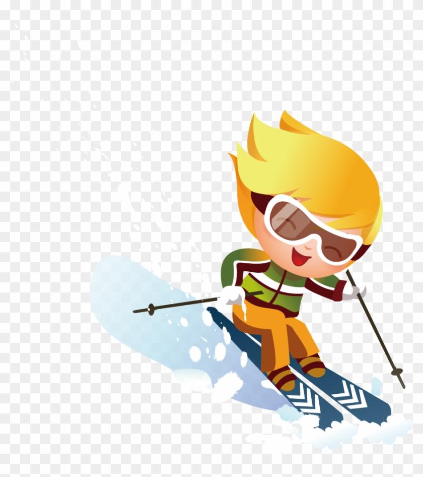 Alpine Skiing Stock Photography Clip Art - Åka Skidor Barn #138372