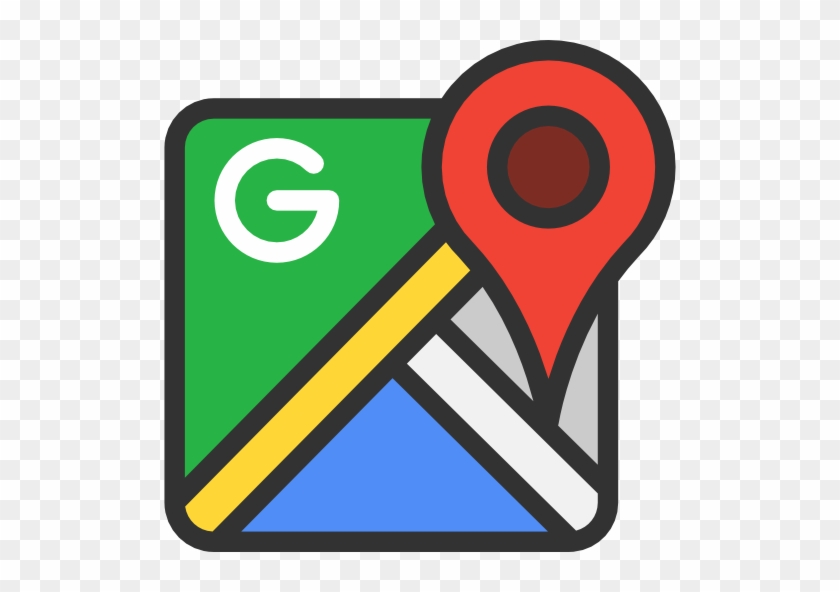 Size - Google Maps Icon Transparent #138390