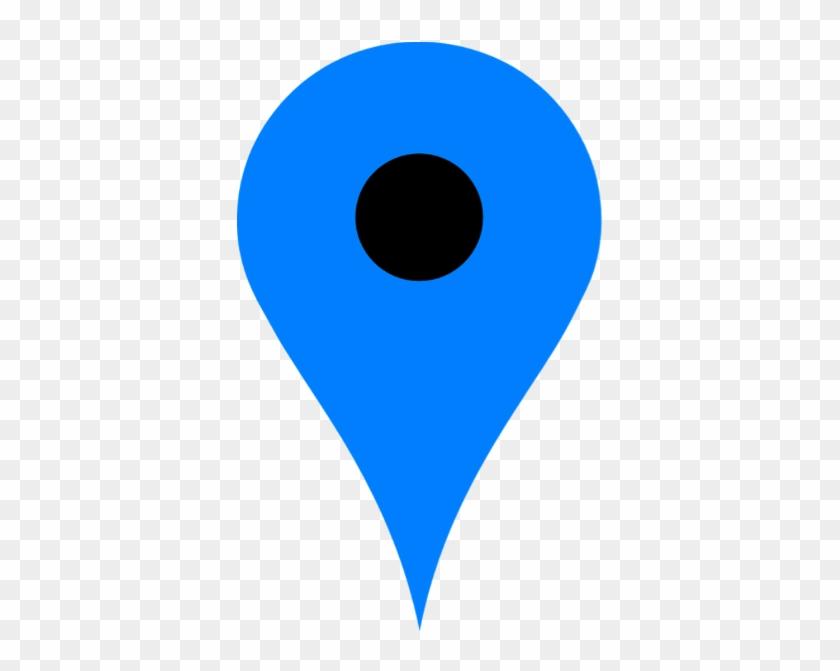 Ftestickers Blue Dot Location Iconfreetoedit - Circle #138477