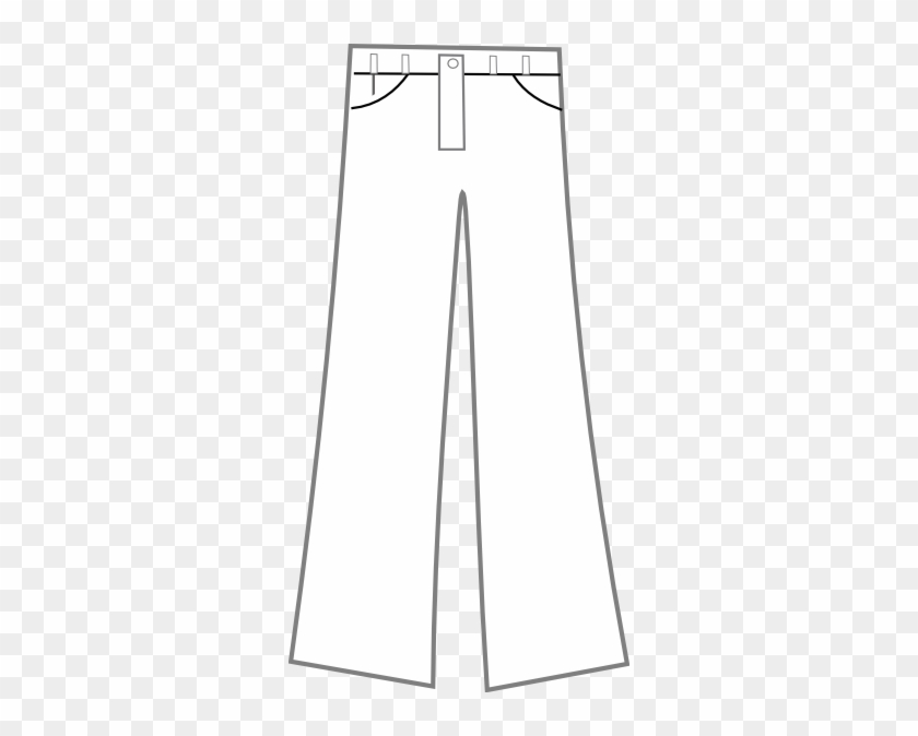 Pants Black And White Clip Art At Clker - Pants Black And White Clipart Png #138523