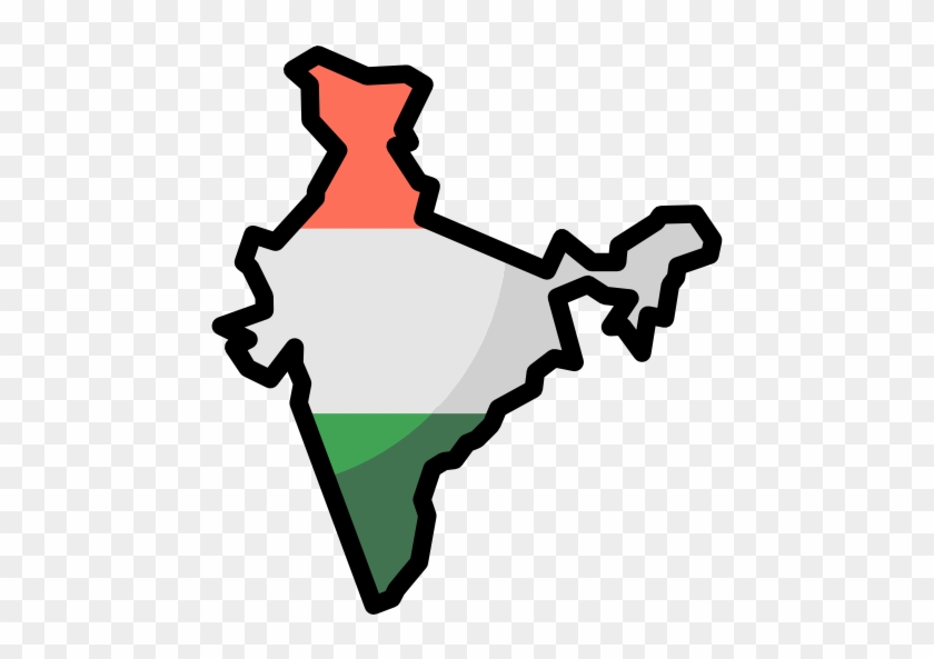 Size - India Map Icon Png #138528