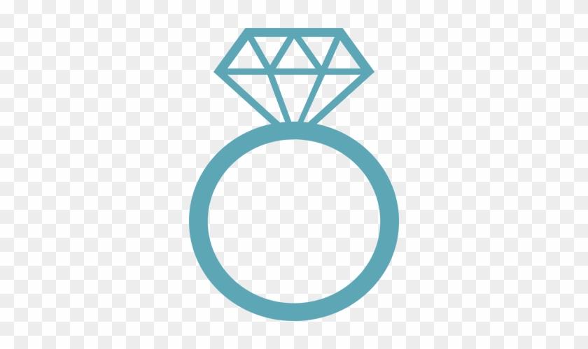 Diamondring - Glitter Ring Clipart #138544