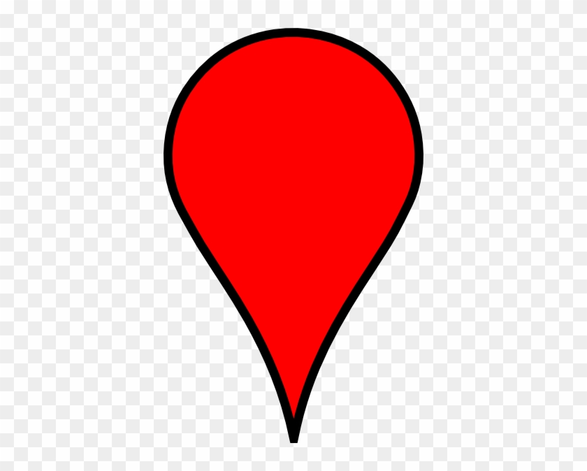 Google Map Red Pin #138570
