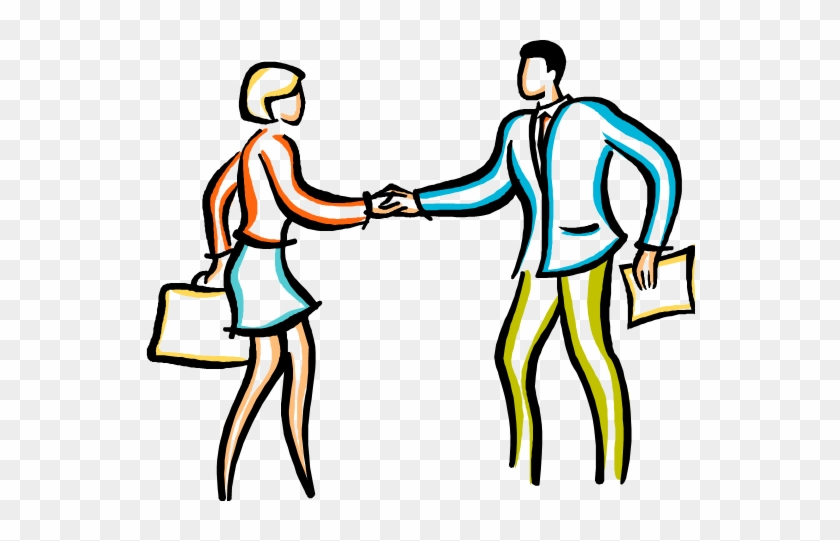 Shaking Hands Clip Art - Person Saying Youre Welcome #138589