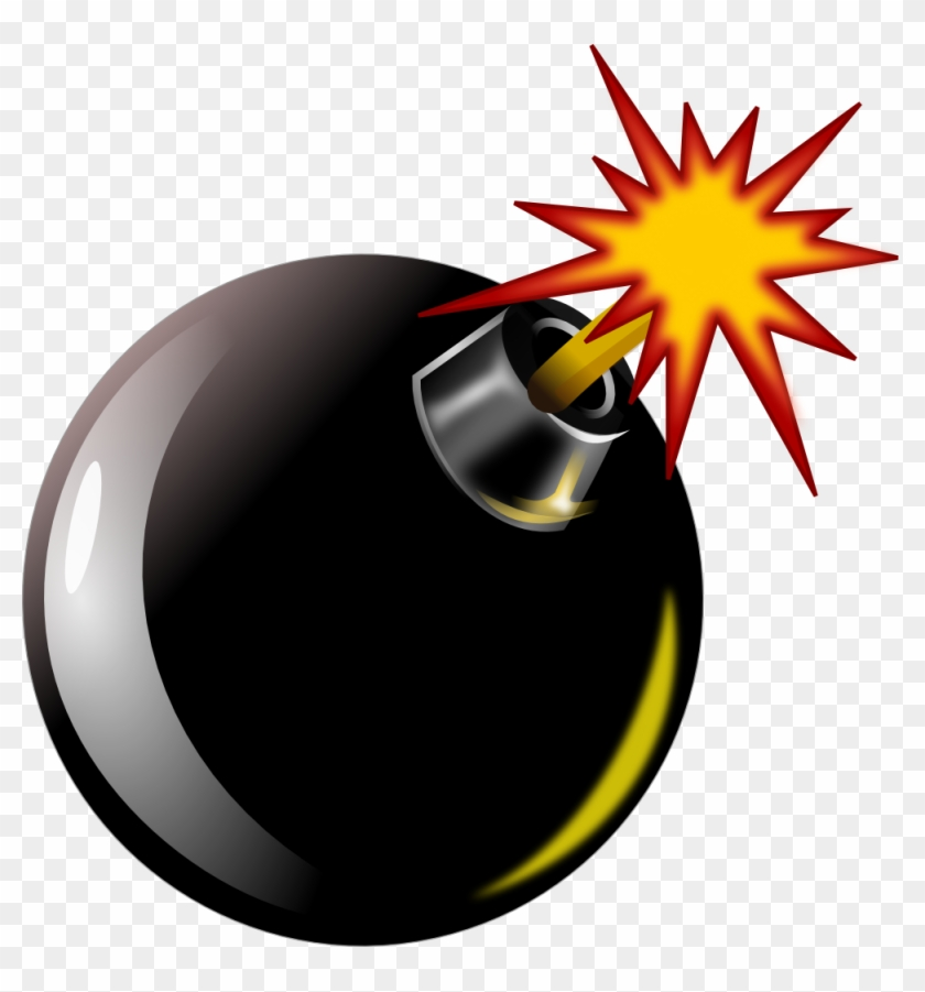 Bomb Scalable Vector Graphics Svg - Bomb Exploding Clipart #138661