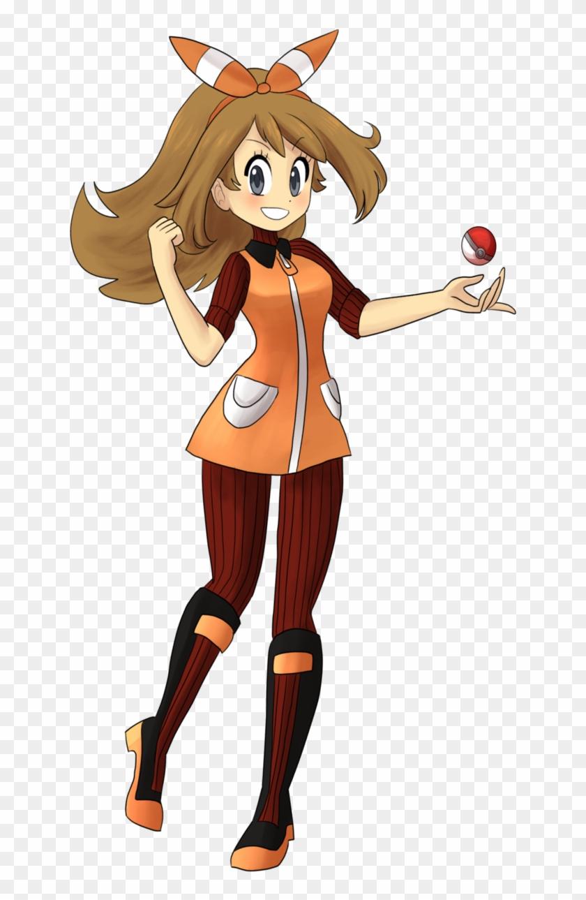 Magma May By Teacupballerina Magma May By Teacupballerina - Pokemon May Team Magma #138688