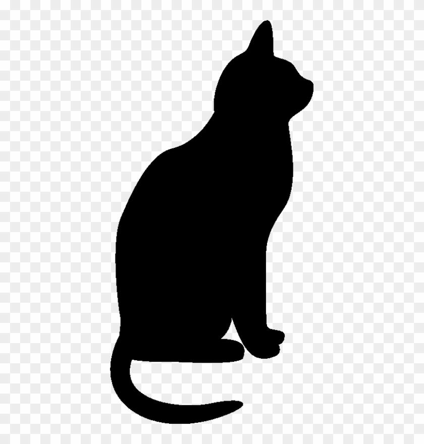 Cat Silhouette 4 By Clipartcotttage - Cat Silhouette Clip Art #138720