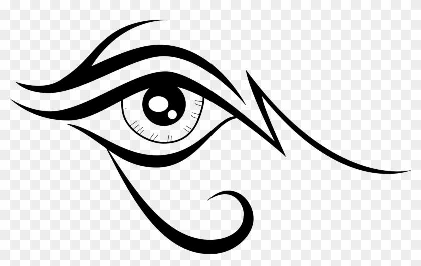 Eye Vector Vectorportal - Eye Vector Tribal #138730