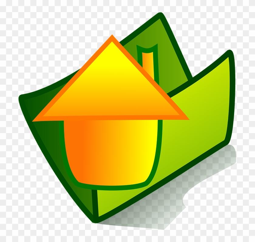 Folder Theme Home File Sign Symbol Icon - Icono Abrir Archivo Png #138773